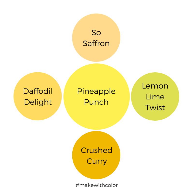 Color Comparison Pineapple Punch
