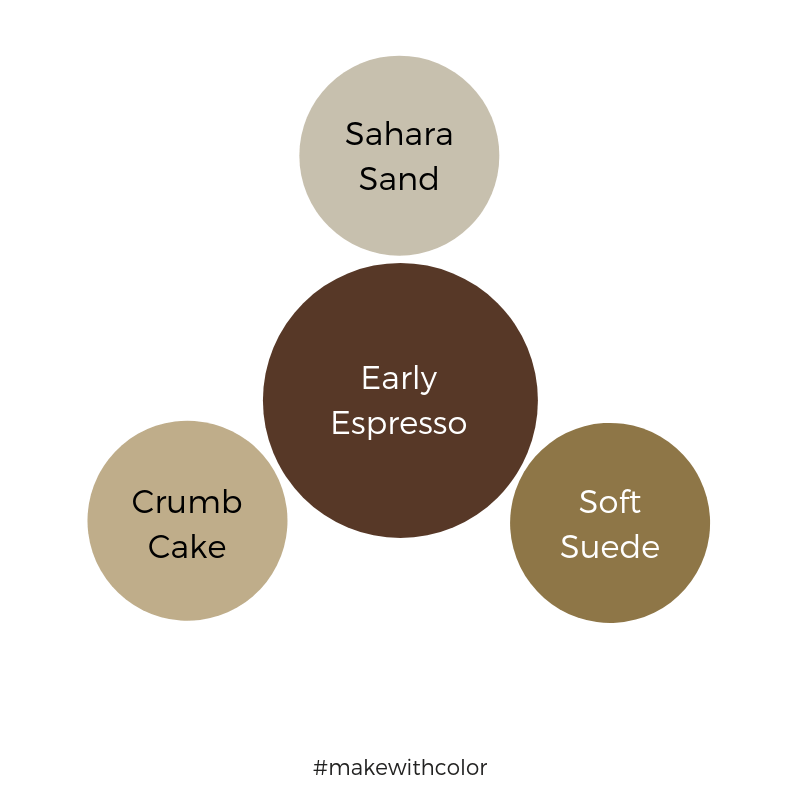 Color Comparison Early Espresso