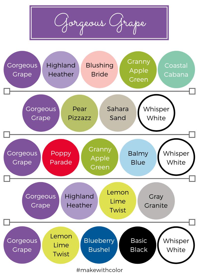 Color Combos Gorgeous Grape