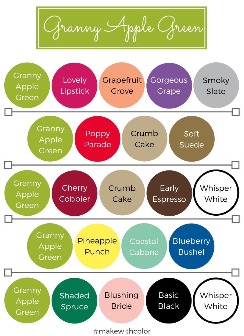 Color Combos Granny Apple Green