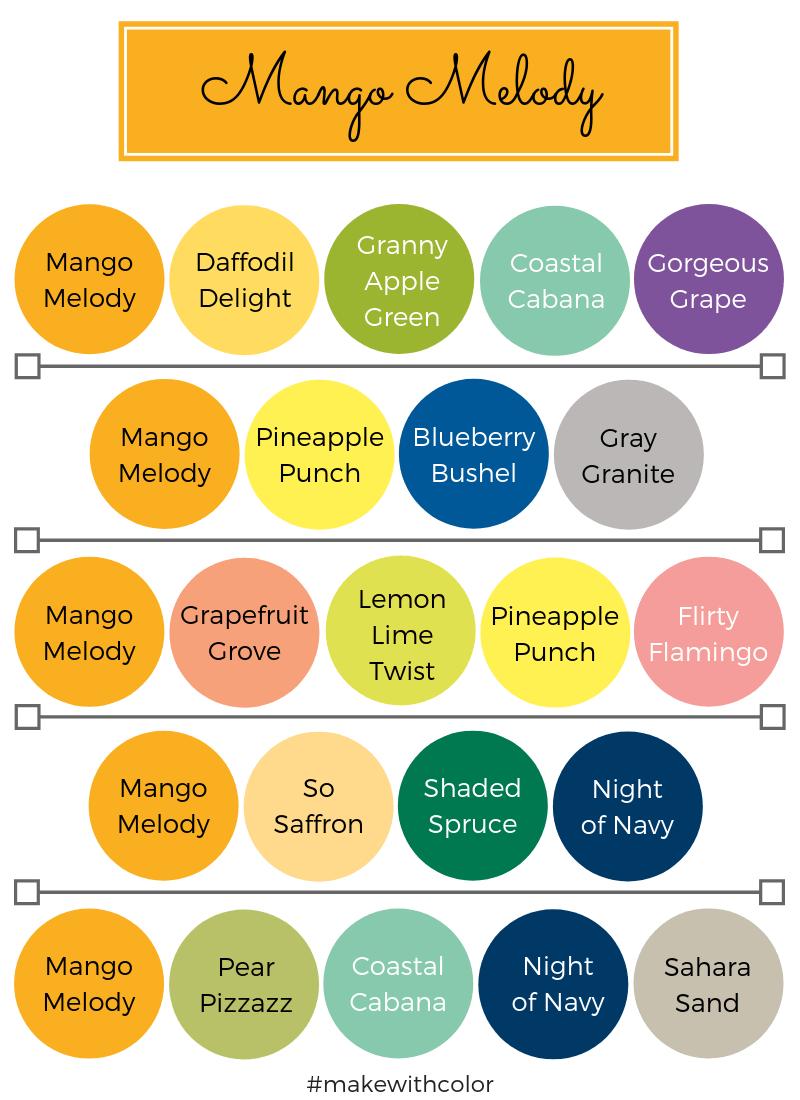Color Combos Mango Melody