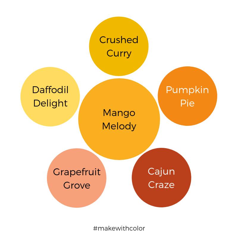 Color Comparison Mango Melody