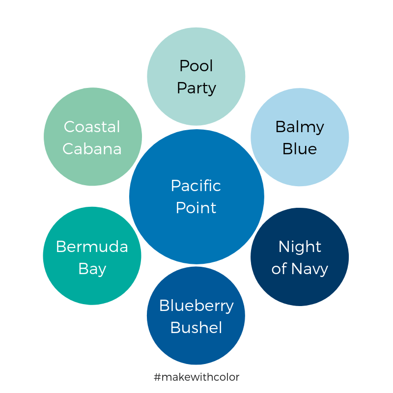 Color Comparison Pacific Point