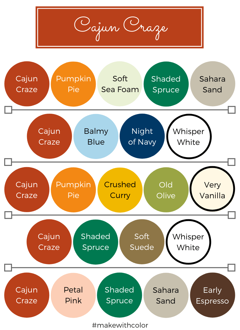Color Combos Cajun Craze