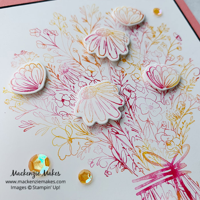 July 2020 Technique Blog Hop - Baby Wipe Technique – Click through to learn how to make a card using the baby wipe technique. | #mackenziemakes #stampinup | www.mackenziemakes.com