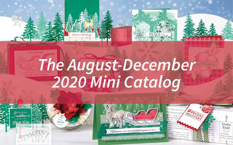 The August-December 2020 Mini Catalog