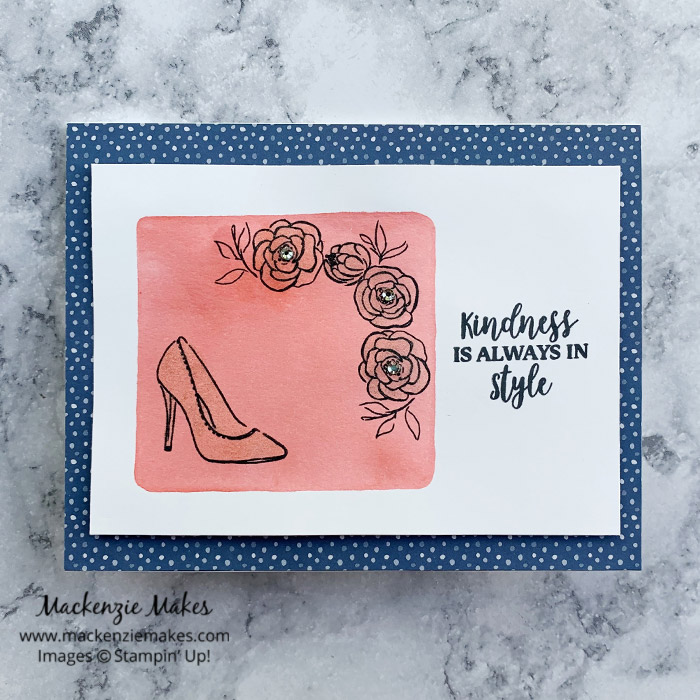September 2020 Technique Blog Hop - Clear Block Stamping – Click through to learn how to make a card by using the clear block stamping technique. | #mackenziemakes #stampinup | www.mackenziemakes.com