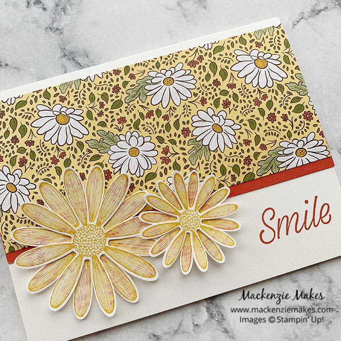 December 2020 Technique Blog Hop - Thumping Technique – Click through to learn how to make a fun card using the Thumping Technique.   #mackenziemakes #stampinup   www.mackenziemakes.com