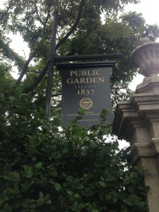 Mackinaw Road-Boston Public Gardens