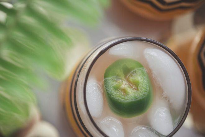 East Coast Cocktails Living Lark Jalepeno Fizz