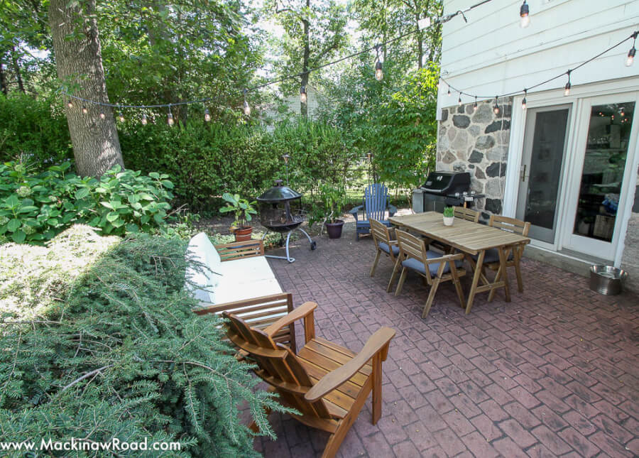 Inexpensive Backyard Patio Ideas Mackinaw Road
