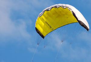 The HQ Beamer kiteboarding trainer kite