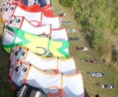pack lots of kiteboarding gear