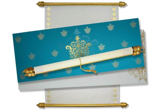 1 Online To Scroll Indian Wedding Cards