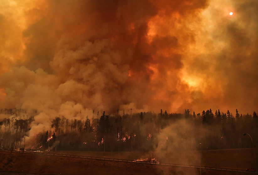 forest fire in canada fort mcmurray के लिए चित्र परिणाम