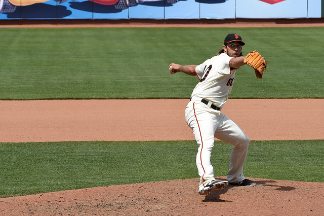 Madison Bumgarner pitcher.