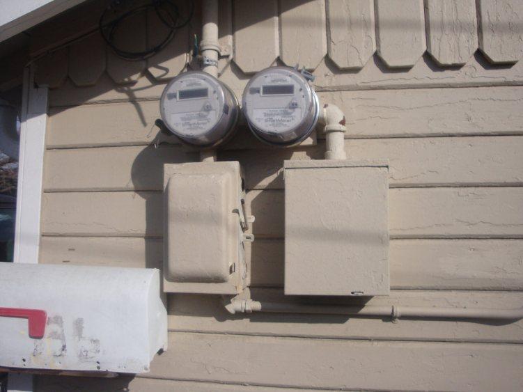 2 PG&E meters