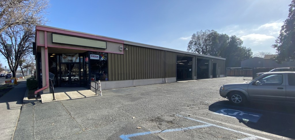 Exterior of Automotive Building in Concord