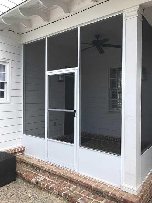 screened in porches in memphis tn