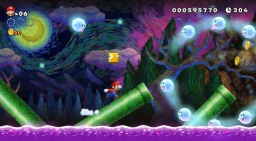 new-super-mario-bros-u-gameplay-screenshot-beautiful-night-background1 20121215