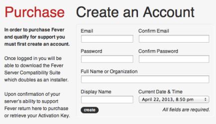 Auf feedafever.com registrieren und die erhältlichen Dateien herunterladen, entpacken und in den Ordner web/fever kopieren.