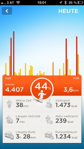 Jawbone UP App 7