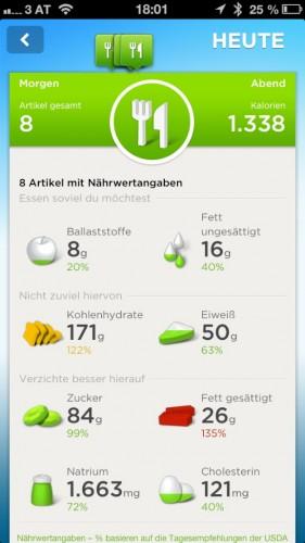 Jawbone UP App 8