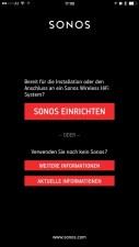 sonos iPhone - ersteinrichtung 1