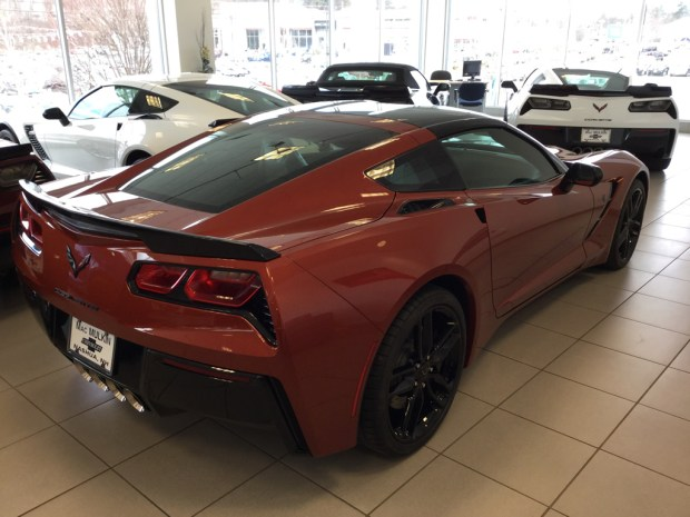2016 Corvette Z51 Coupe - Daytona Sunrise Orange Metallic