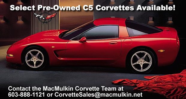 Pre-Owned C5 Corvettes for Sale at MacMulkin Chevrolet
