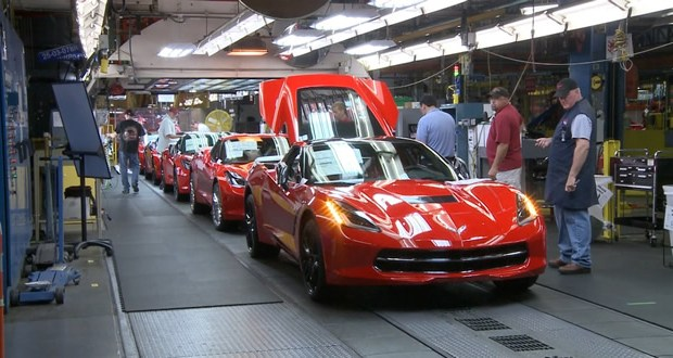 Corvette Order Tracking