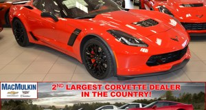 ORder you 2016 Corvette Z06 from MacMulkin Chevrolet in Nashua, New Hampshire!