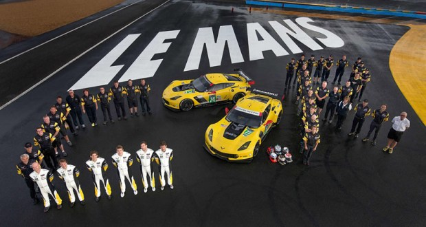 Corvette Racing at Le Mans: 24 Hours of in-car and garage streaming