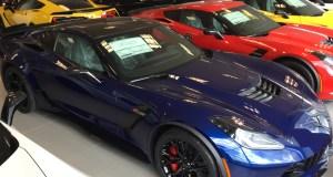 2016 Corvette Z06 - Z07 Performance Pkg - Admiral Blue Metallic