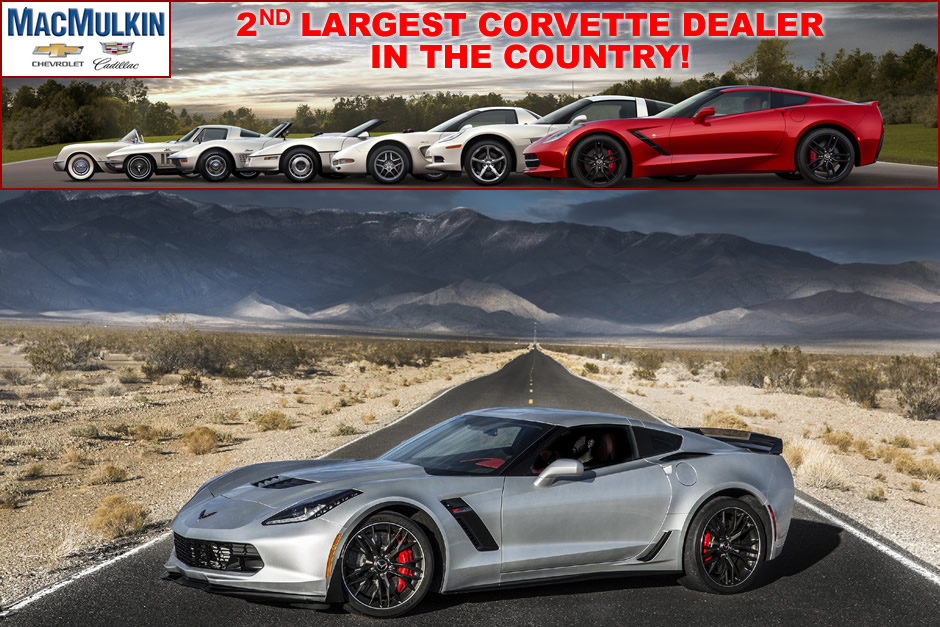 Select 2016 Corvette Z06 Blowout Special in June!