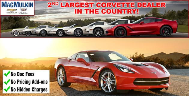 Select 2016 Corvette Blowout Special in June!