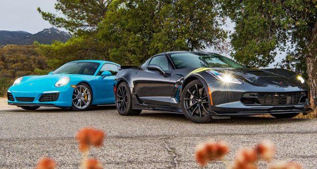 A 2017 Corvette Grand Sport or a Porsche 911 Carrera S? You Decide!