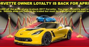 Corvette Owner Loyalty Program - MacMulkin Chevrolet