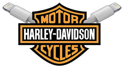 Harley Davidson and Apple Trademark Lightning