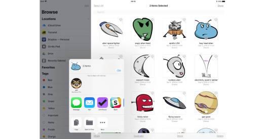 iOS 11 Files app sharing documents