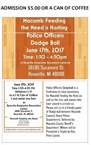 Dodge-Ball for Police Officers