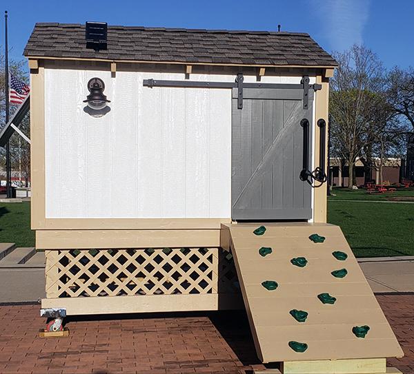 Chicken Coop Playhouse