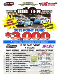 BIG TEN 2015 Street Stock