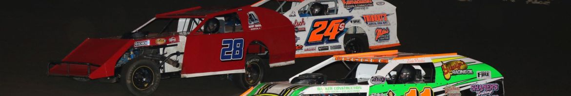 Modifieds to come from all over to race in 100 lap event Thursday (Double J Photo)