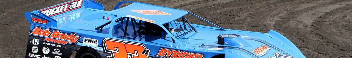 Storm Beiler will be one of the Pro Late Models on track at Macon Speedways Opener Saturday (Jones Photo)