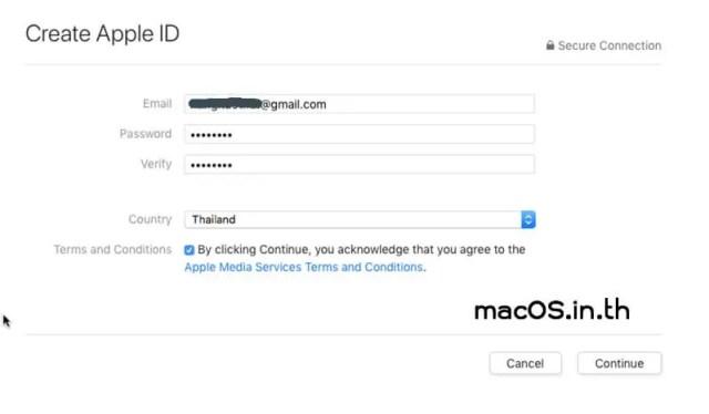Create Apple ID