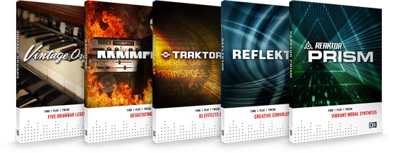 Native Instruments KOMPLETE 7 - New Products