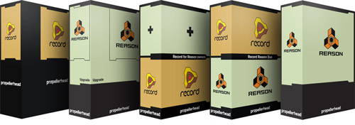 Propellerhead Reason 5 and Record 1.5
