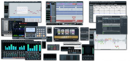 Cubase 6 collage
