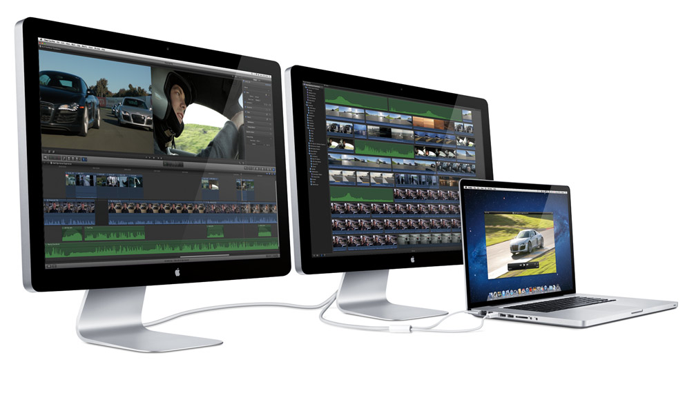 Apple Introduces World's First Thunderbolt Display